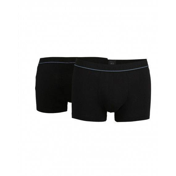 Boxer Pants in Schwarz