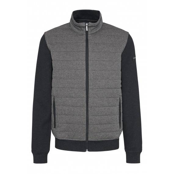 Sweatjacke in Grau