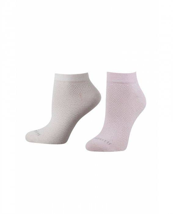 Sneaker Socken in Rose