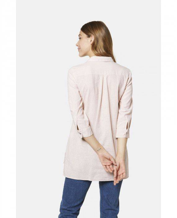 Bluse in Beige