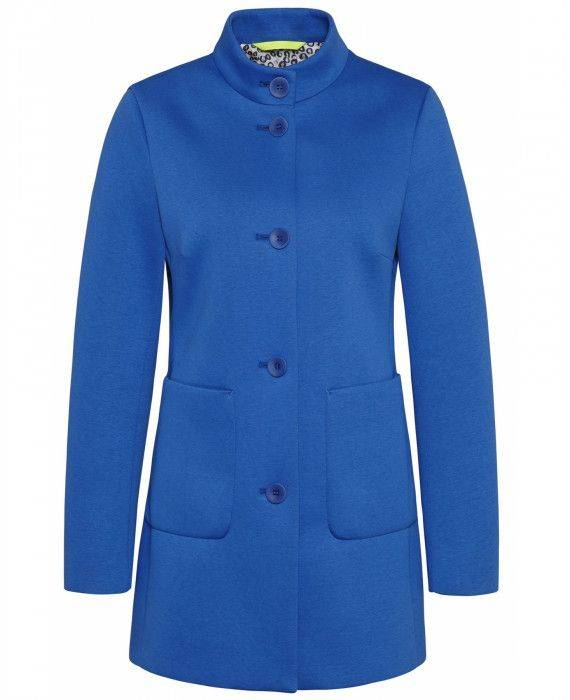 Neoprenjacke in Blau