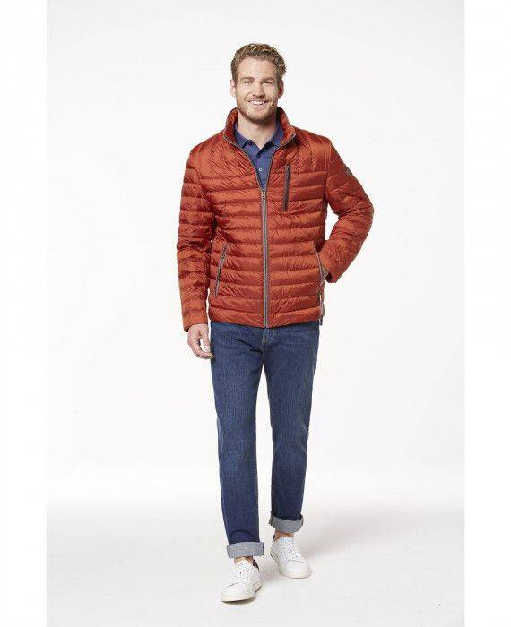 Steppblouson in Orange