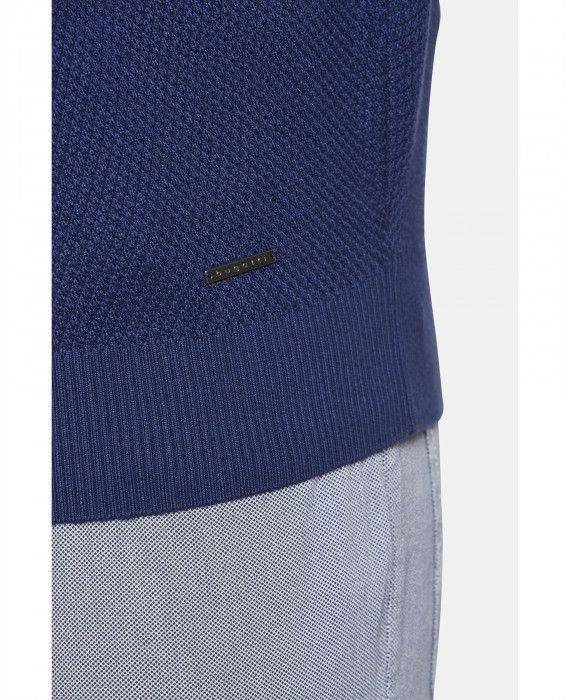 Strickjacke in Blau