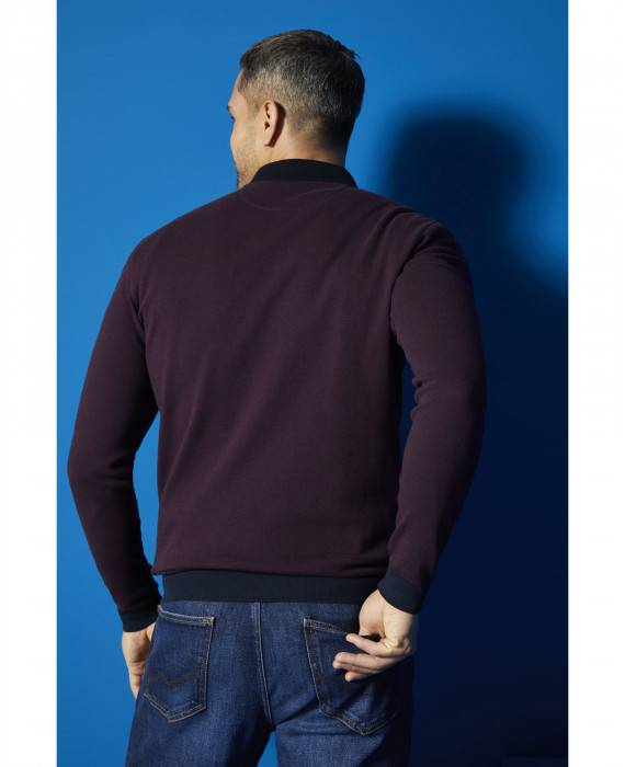 Poloshirt in Bordo