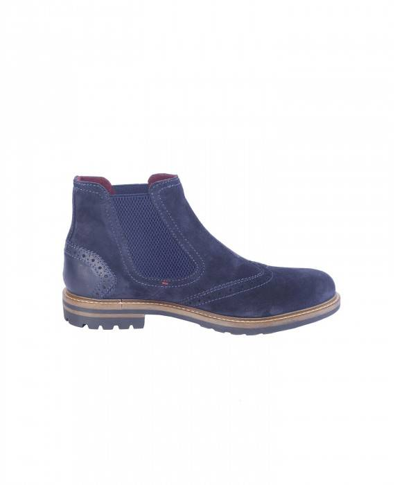 Chelsea Boots in Blau