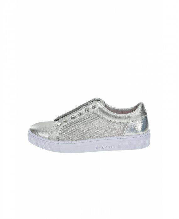 Slipper in Silber