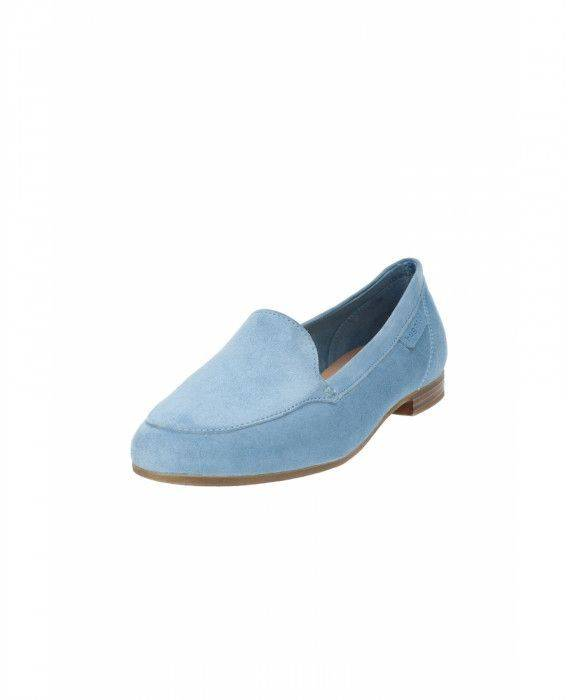 Slipper in Hellblau