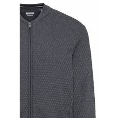 Strickjacke in Grau