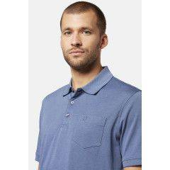 Polo-Shirt in Hellblau