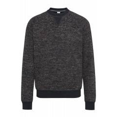 Sweatshirt in Braun