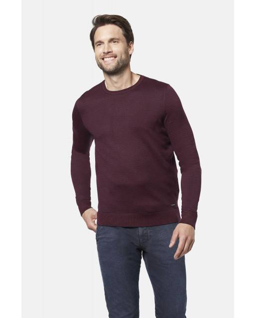 Pullover in Brombeere