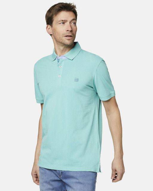 Poloshirt in Mint