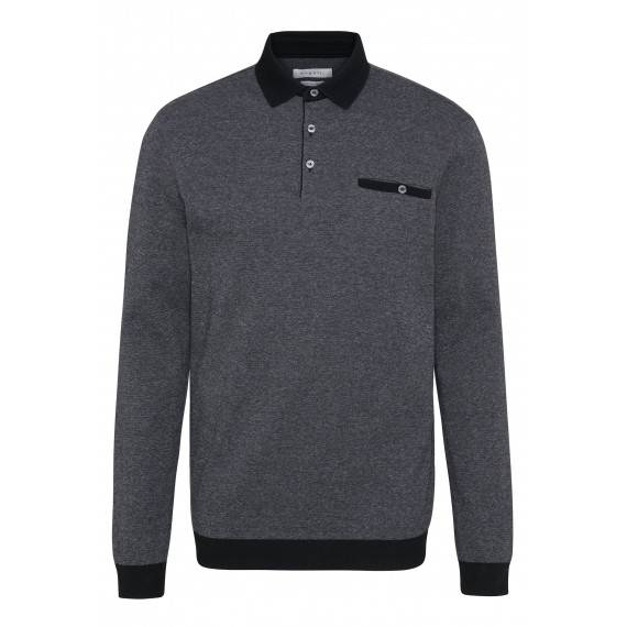 Poloshirt in Grau
