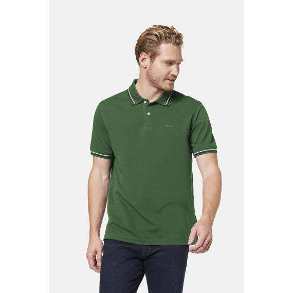 Polo-Shirt in Grün