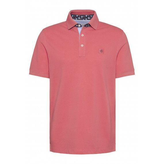 Polo-Shirt in Koralle