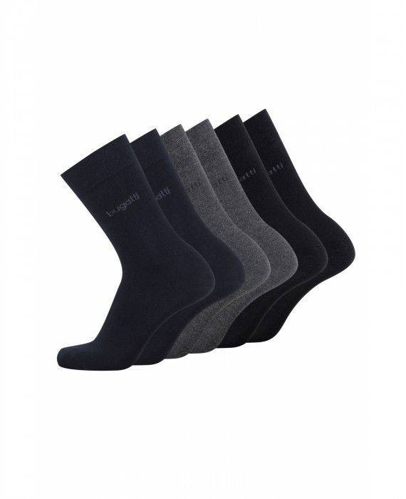 6er Pack Socken in Blau