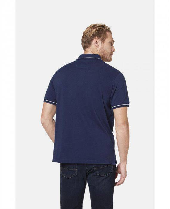 Polo-Shirt in Dunkelblau