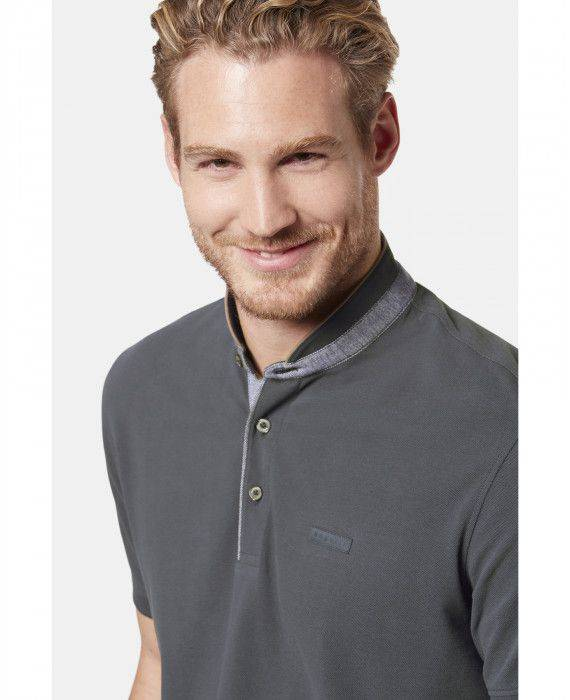 Polo-Shirt in Grau