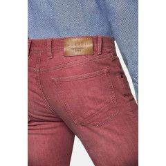 Jeans in Koralle