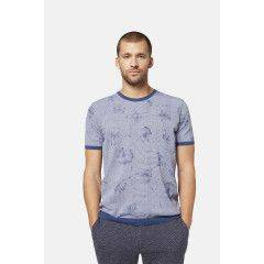 Strickshirt in Blau