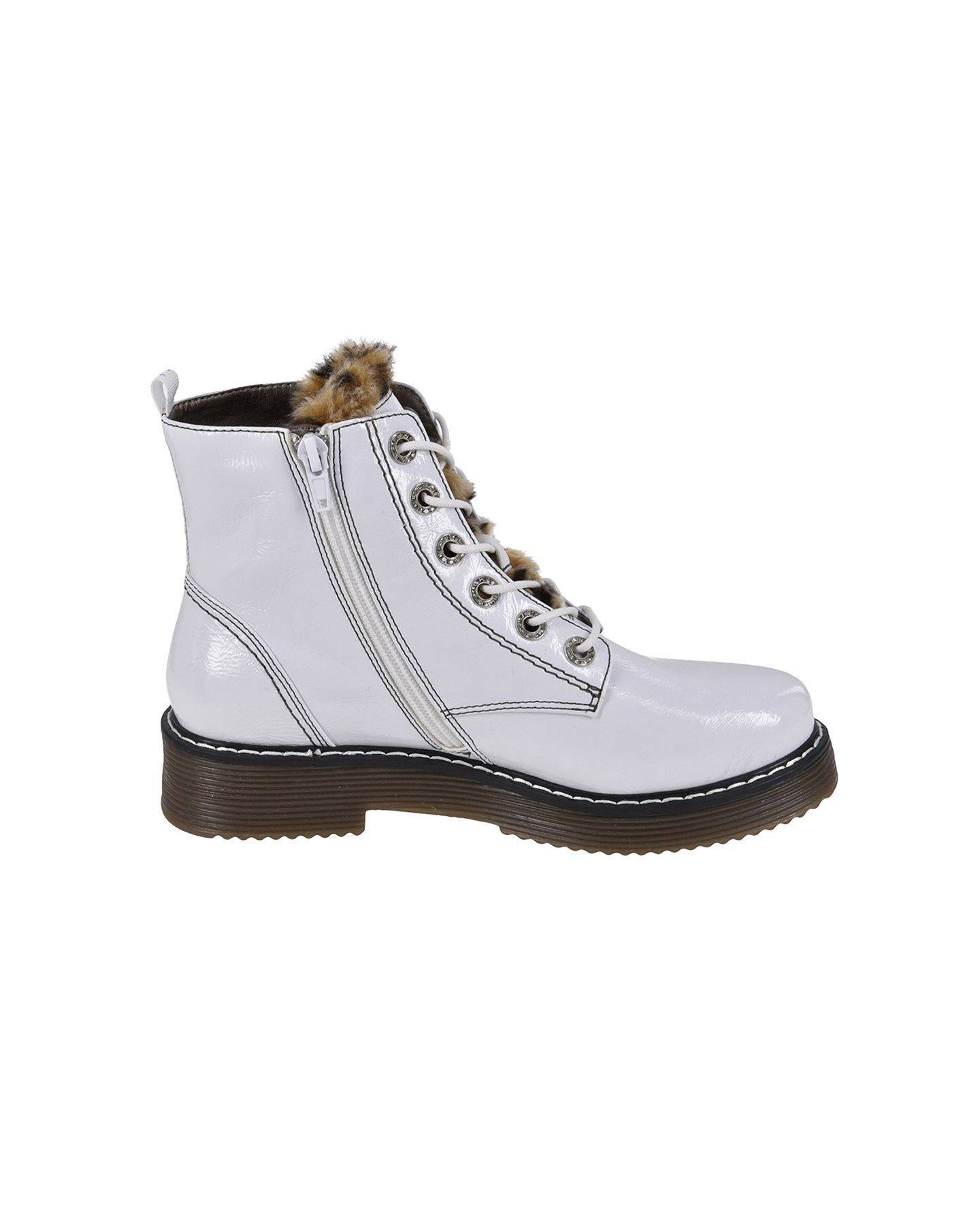100% authentic 691b0 9ec17 Lace-up boots in white - Official Online Shop