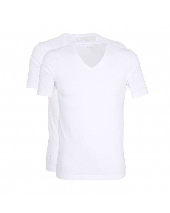 2er Pack T-Shirt in Weiß