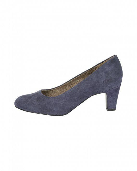 Pumps in Blau