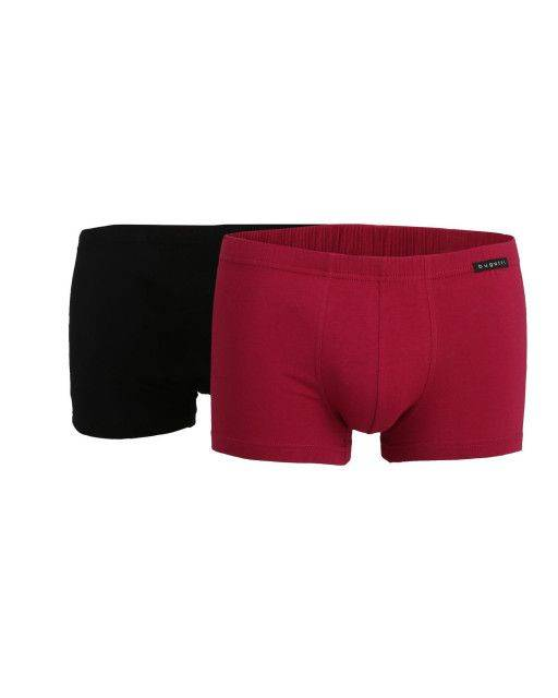 Boxer shorts in red