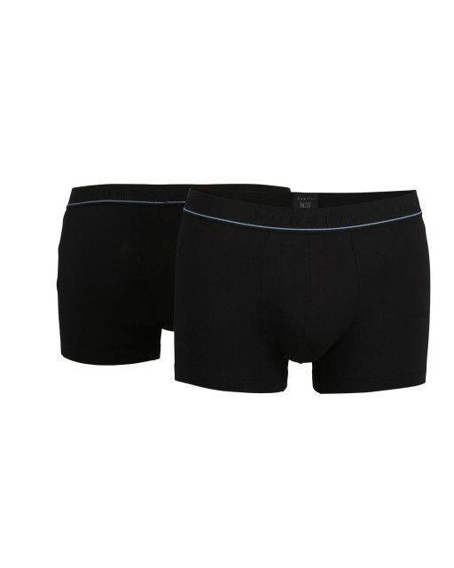Boxer pants in black