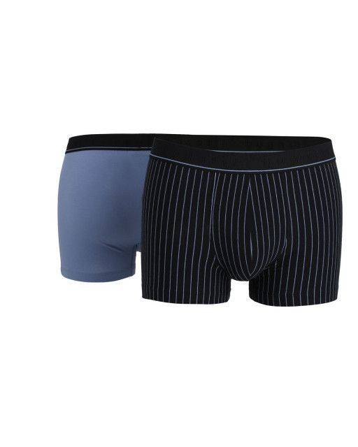 Two-pack of pants in blue
