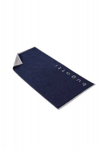 Bath towel in navy
