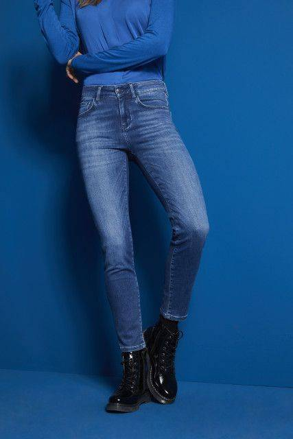 Jeans in blue