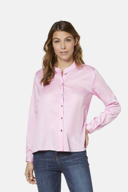 Shirt-blouse in rose
