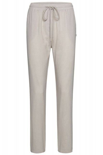 Casual pants in beige