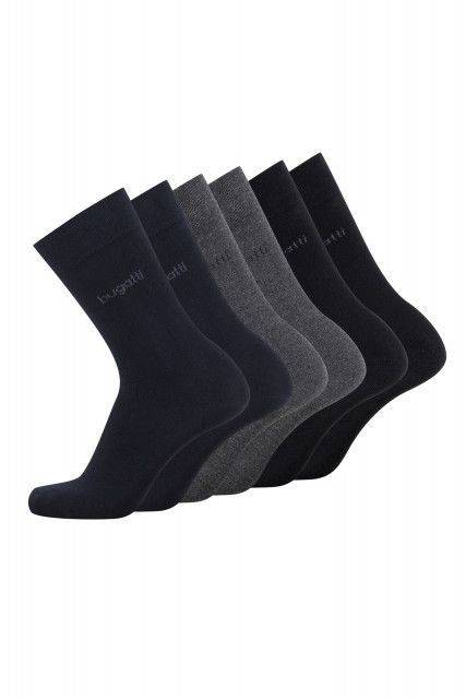 6-pack socks in blue
