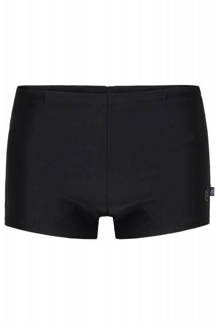 Short swim trunks in black