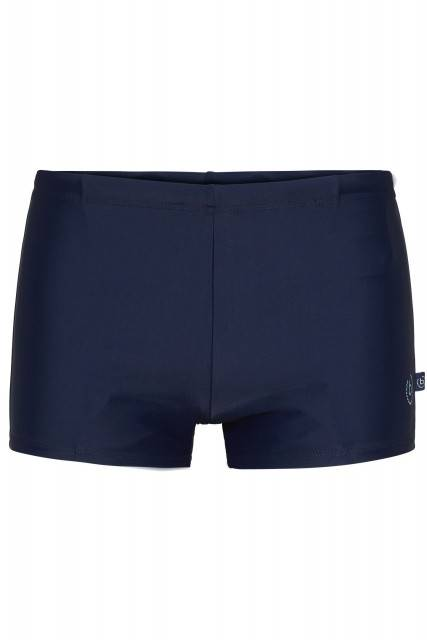 Short swim trunks in blue