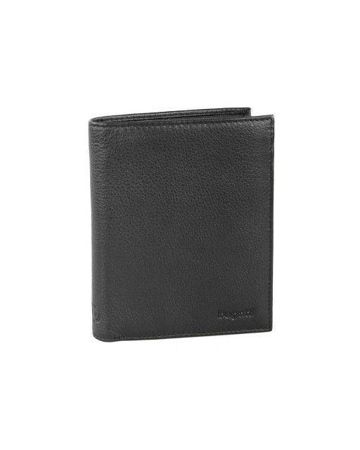 Combination wallet in black