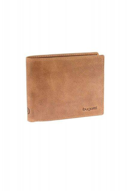 Wallet in cognac