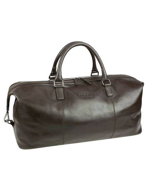 Travel bag in brown