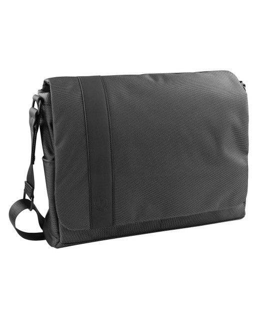 Messenger bag in anthracite grey