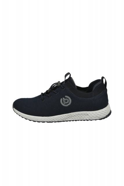 Sports shoe in dark blue
