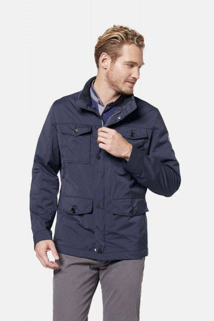 Field jacket in blue