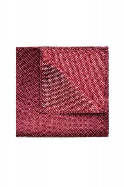 Pocket square in red