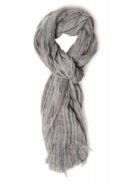 Scarf in grey