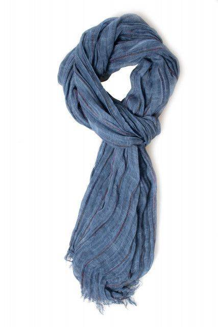 Scarf in blue