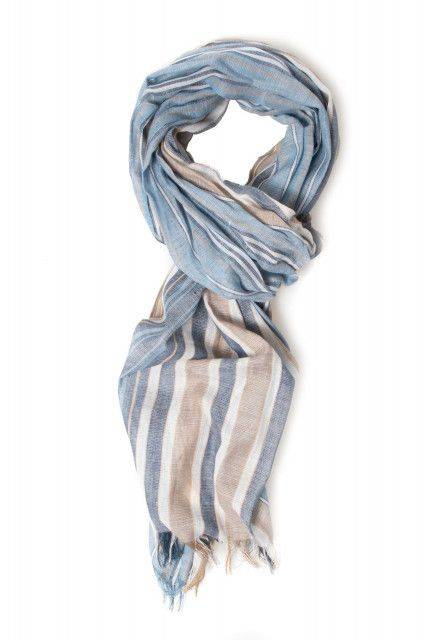Scarf in light grey