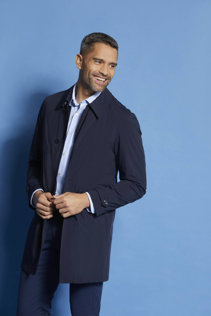 Coat in navy