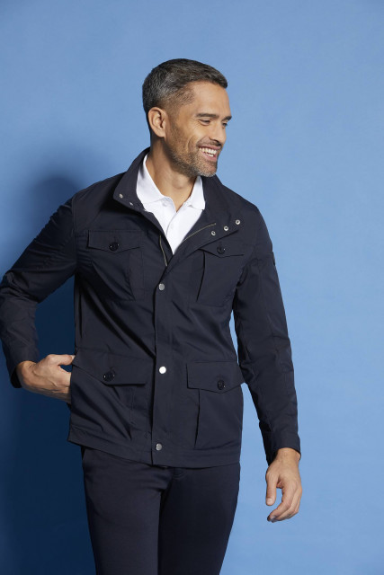 Jacket in navy