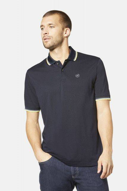 Polo shirt in dark blue